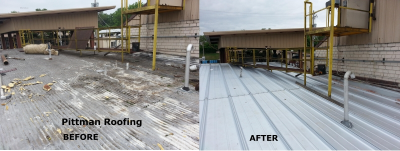 Commercial Factory Before & After