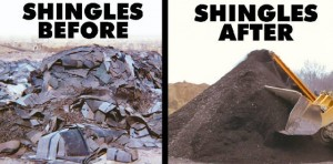 Shingles-Recycling-process