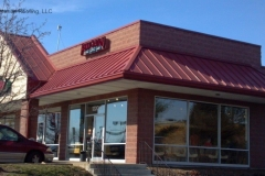 Commercial Metal Roofing Strip Mall